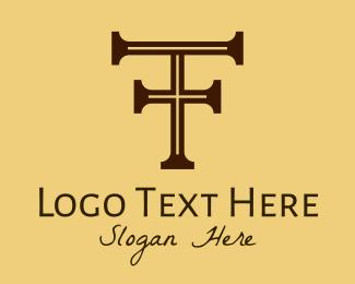 Letter T - Classic Letter T  logo design