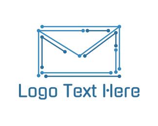 Electronic - Electronic Envelope logo design