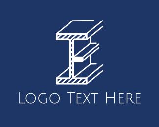 Beam Letter E Logo