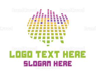 Music Production - USA Music Beat logo design