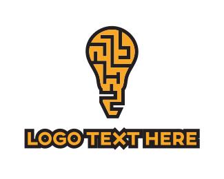 Logic - Maze Idea logo design