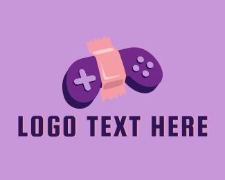 Gaming - Gaming Bandage logo design