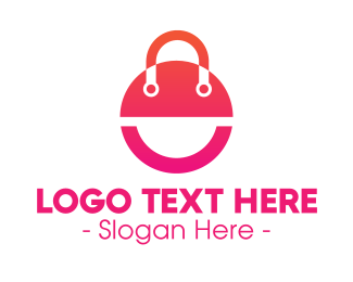Handbag - Modern Gradient Bag logo design
