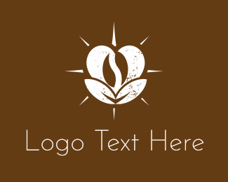 Valentines - Love Coffee logo design