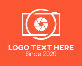 Camera - Photography Camera logo design
