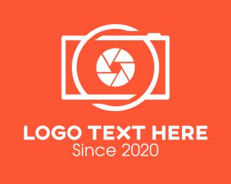 Photography Camera logo design