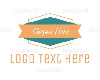 Casual - Modern  Badge Brand logo design