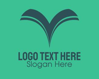 Wiki - Book Bird logo design