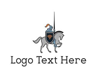 Knight - Knight Signal logo design
