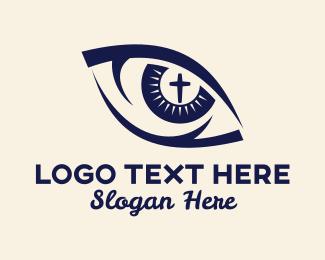 Parish - Holy Religious Eye Vision logo design