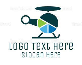 Chopper - Finance Helicopter logo design