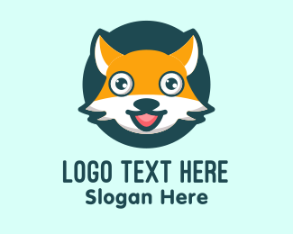 Mascot - Cute Fox Mascot logo design