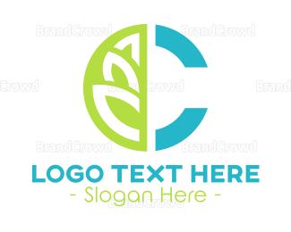 Pharmaceutic - Health and Wellness Letter C logo design