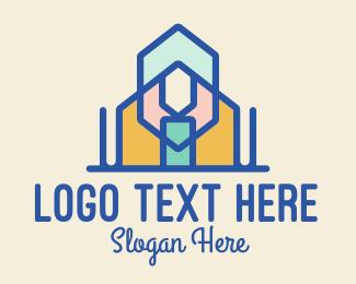 Buying - Glass House Property logo design