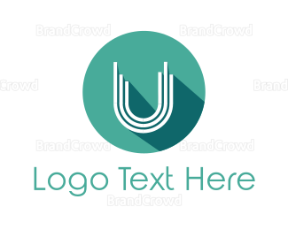 Salon - Mint U Circle logo design