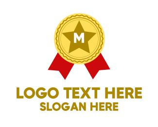 Prize - Award Lettermark logo design