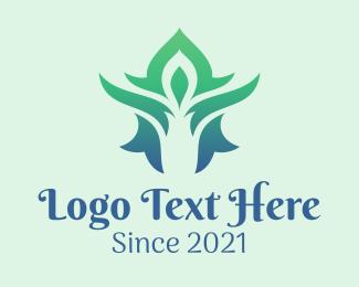 Massage - Abstract Thai Massage logo design