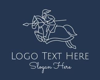 Gaming - Royal Knight Horse logo design