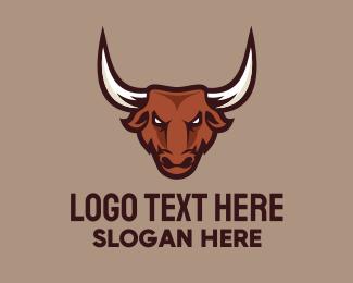Competition - Bull Mascot logo design
