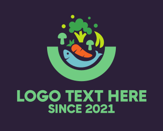 Veggie - Food Market logo design