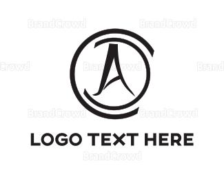 Acronym - Black Compass logo design