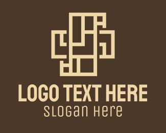 Architecture - Architecture Cross logo design