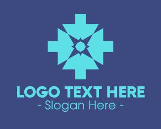 Software Programing - Blue Digital Arrow logo design