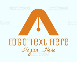 Write - Black A Pen logo design