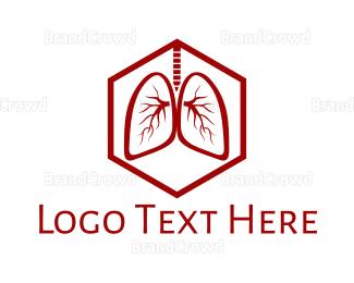 Respirology - Respiratory System logo design