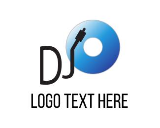 Vinyl - Disc Jockey logo design