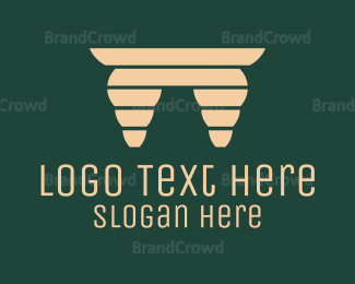 Table - Wooden Table logo design