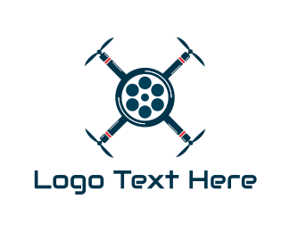 Drone - Drone Movie logo design