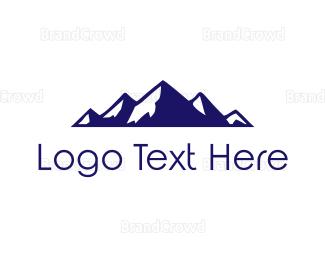 Mountain - Blue Mountain Range logo design