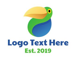 Parrot - Abstract Parrot logo design