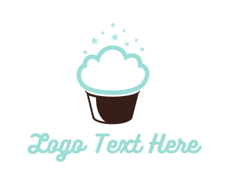 Biscuit - Cloud Cake logo design
