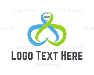 Center - Tentacle DNA logo design