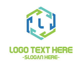 Club - Hexagon Chain Link logo design