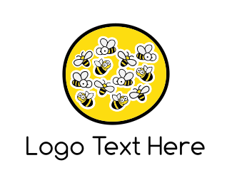Cartoonish - Honey Farm logo design
