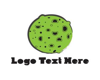 Meteorite - Green Planet logo design