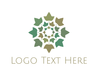 Round Foliage Logo