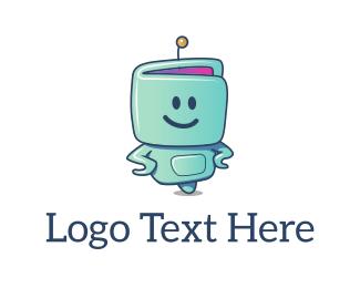 Illustrative - Robo Smile logo design