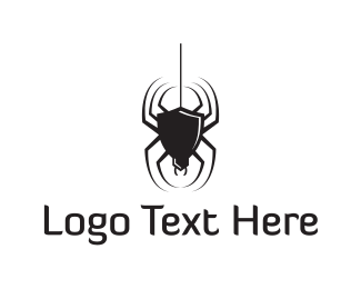 Venom - Black Spider logo design