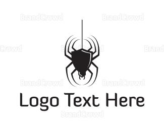 Venom - Black Spider logo design