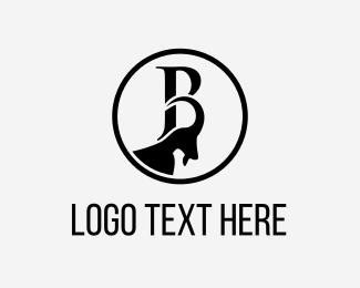 Letter B - Black Goat logo design