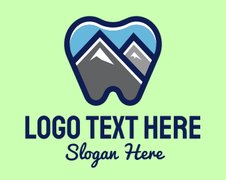 Dental Care - Mountain Peak Dental logo design