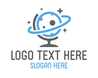 Saturn - Global Sky logo design