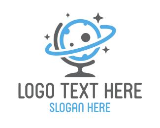 Tagline - Global Sky logo design