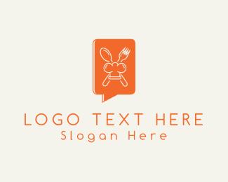 Mobile - Gourmet Chat logo design
