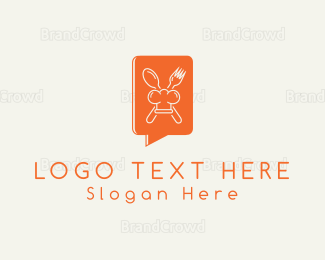Chat - Gourmet Chat logo design