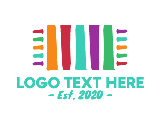 Brushstroke - Colorful Carpet logo design
